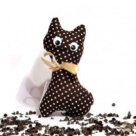 Pohánková mačička hnedý puntík malá
