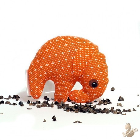 Pohánkový sloník oranžový puntík malý