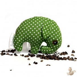 Pohankový sloník zelený puntík malý
