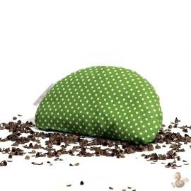 Pohanková podložka pod zápěstí zelená
