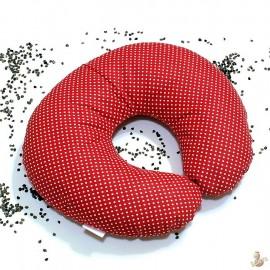 Pohankový nákrčník červený