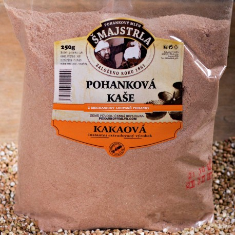 Pohanková kaše instantní kakaová Šmajstrla 250 g