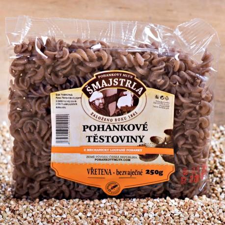 Pohankové těstoviny vřetena Šmajstrla 250 g