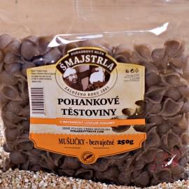 Pohankové těstoviny mušle Šmajstrla 250 g
