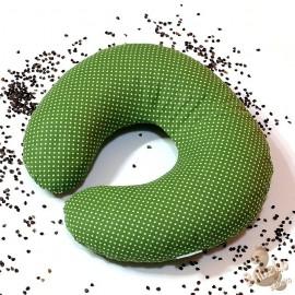 Pohankový nákrčník zelený