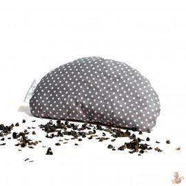 Pohanková podložka pod zápěstí šedá