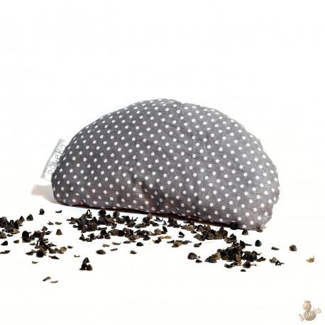 Pohánková podložka pod zápestie šedá