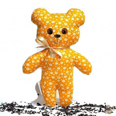 Pohánkový medvedík oranžový kvet