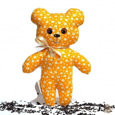 Pohankový medvídek oranžový květ