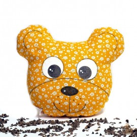 Pohánkový míša hlavička oranžový kvet