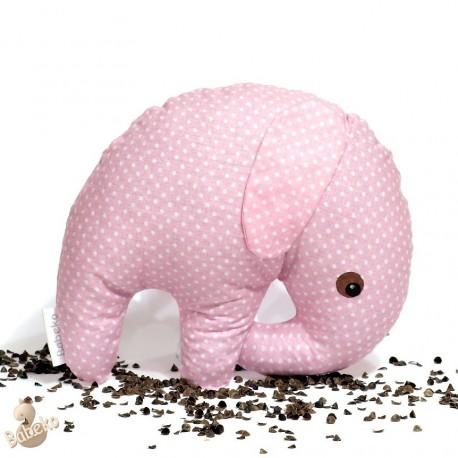 Pohankový sloník růžový puntík