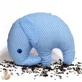Pohánkový sloník modrý puntík
