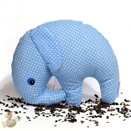 Pohankový sloník modrý puntík