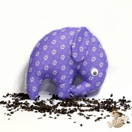 Pohánkový sloník fialový květ