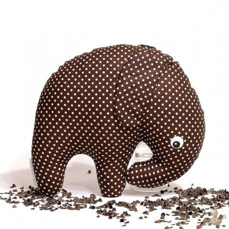 Pohánkový sloník hnedý puntík