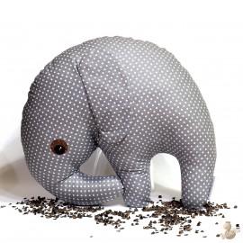 Pohankový sloník šedý puntík