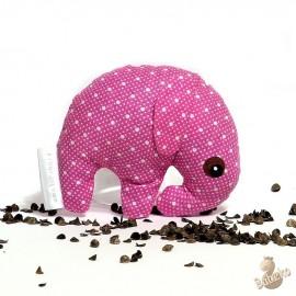 Pohánkový sloník ružový puntík malý