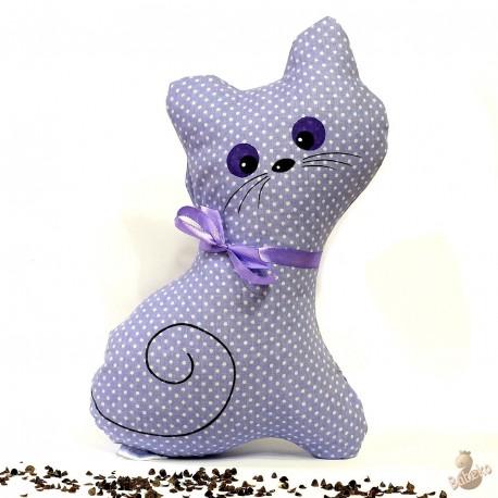 Pohánková mačička fialový puntík
