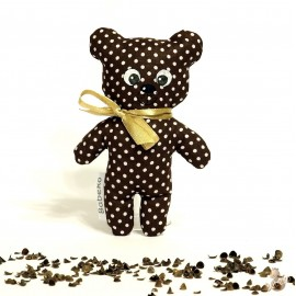 Pohankový medvídek hnědý puntík malý