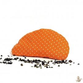 Pohanková podložka pod zápěstí oranžová
