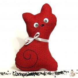 Pohánková mačička červený kvet