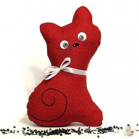 Pohanková kočička červený květ