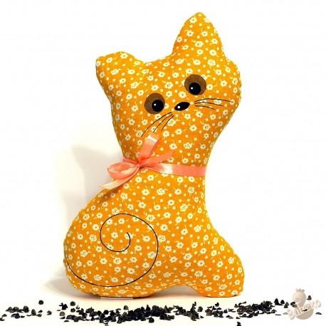 Pohanková kočička oranžový květ