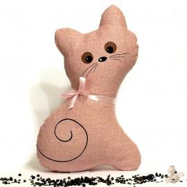 Pohanková kočička růžový květ