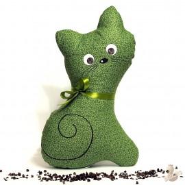 Pohanková kočička zelený květ