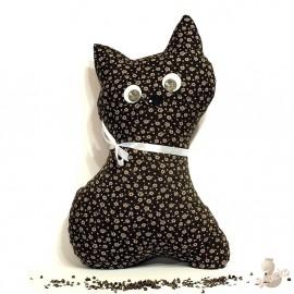 Pohánkový vankúš mačka hnědý kvet
