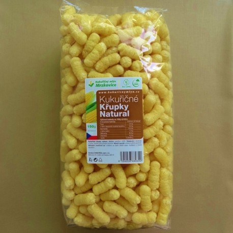 Kukuričné chrumky natural 150 g