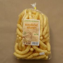 Kukuričné chrumky dlhé slané 100 g