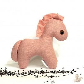 Pohánkový koník ružový kvet