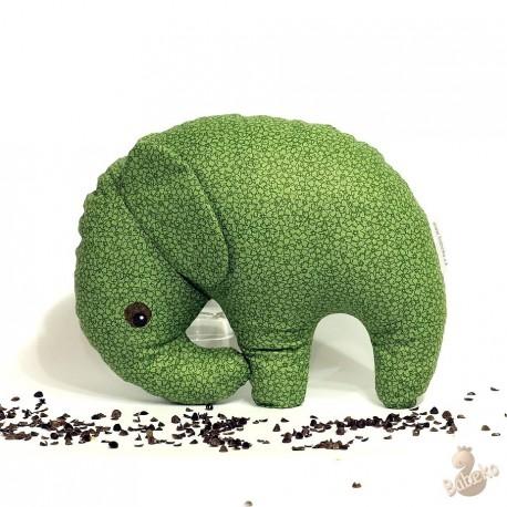 Pohankový sloník zelený květ