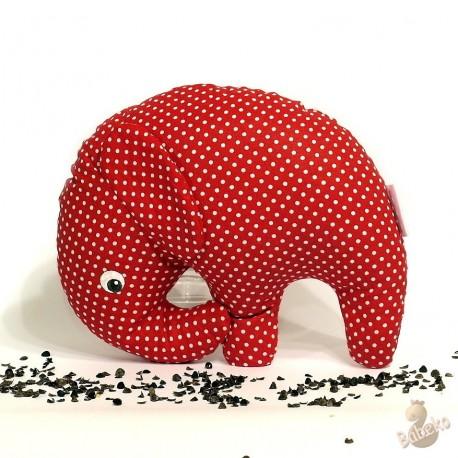 Pohankový sloník červený puntík