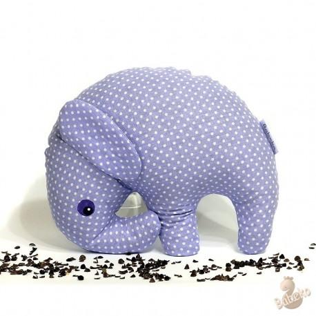 Pohankový sloník fialový puntík
