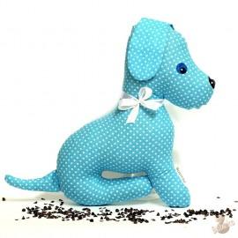 Pohánkový psík tyrkysový puntík