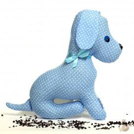 Pohankový pejsek modrý puntík