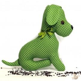 Pohánkový psík zelený puntík