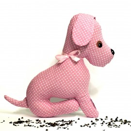 Pohánkový psík ružový puntík