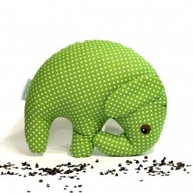 Pohankový sloník zelený puntík