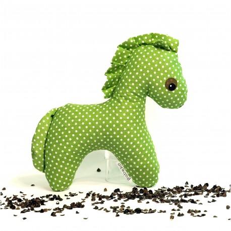 Pohankový koník zelený puntík