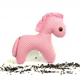 Pohankový koník růžový puntík