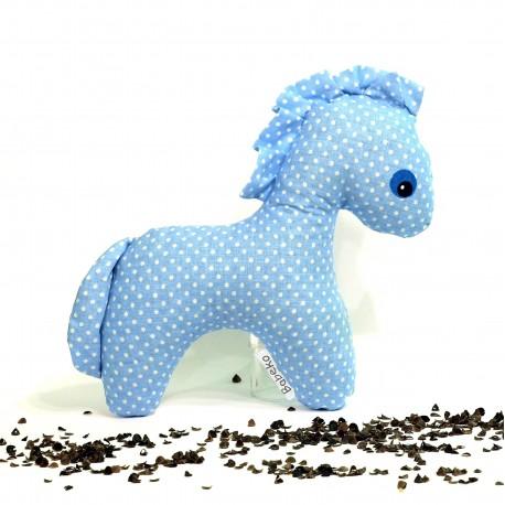 Pohankový koník modrý puntík