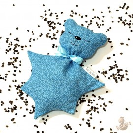 Pohánkový usínáček medvedík modrý kvet