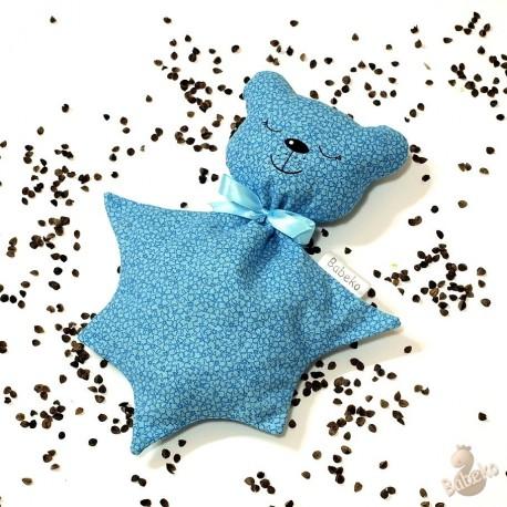 Pohankový usínáček medvídek modrý květ