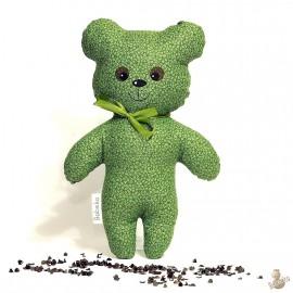 Pohankový medvídek zelený květ
