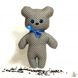 Pohánkový medvedík šedý puntík