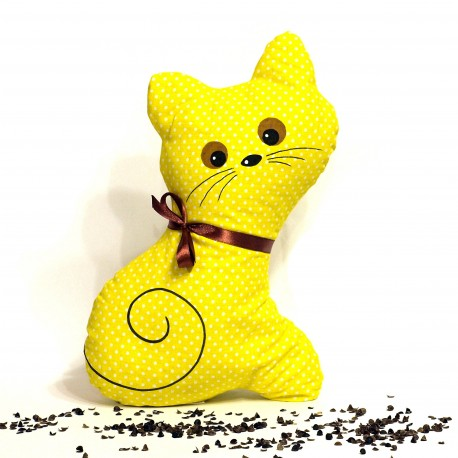 Pohánková mačička žltý puntík
