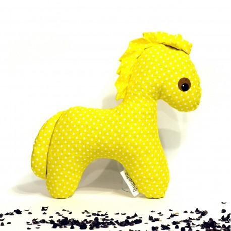 Pohankový koník žlutý puntík